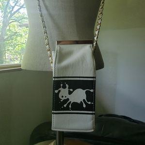 Milk Carton Cross Body Bag